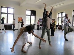 Kimberli Boyd's workshop: Moving Forward in Community: Focusing on Key Aspects of Sociocultural Anthropology Through Movement and Creative Dance